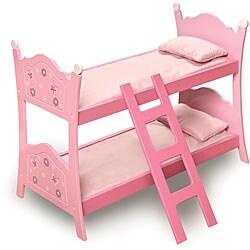 Badger Basket Pink Doll Bunk Bed