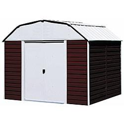 Arrow Red Barn Steel Shed, 10 x 8