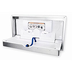Surface Mounted Stainless Steel Changing Station