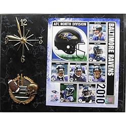 Baltimore Ravens Clock