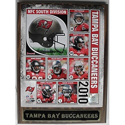 Tampa Bay Buccaneers 2010 Collectible Photo Plaque 7239256