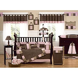 Sweet Jojo Designs Soho Pink 9-piece Crib Bedding Set 7242251