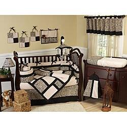Animal Safari 9-piece Crib Bedding Set