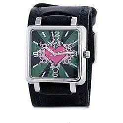 Nemesis Women's Pink Heart Quartz Watch