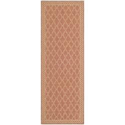 Safavieh Indoor/ Outdoor Rust/ Sand Rug (2'4 x 6'7)