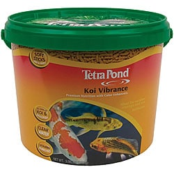 Tetra Koi Vibrance Sticks 3.08-lb Bucket Fish Food 7246116
