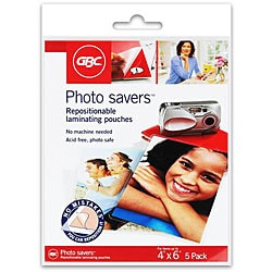 Self Seal Repositionable Photo Pouches (Case of 30)
