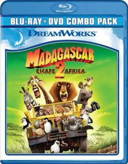 Madagascar: Escape 2 Africa (Blu-ray/DVD) 7251823