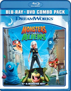 Monsters Vs. Aliens (Blu-ray/DVD) 7251825