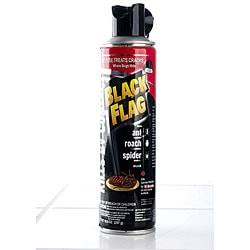 Black Flag 10.5-Ounce Ant/Roach/Spider with Jet Tube (Pack of 4)