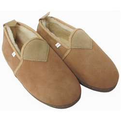 Amerileather Unisex Low Top Sheepskin Slippers