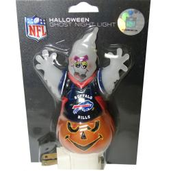 Buffalo Bills Halloween Ghost Night Light