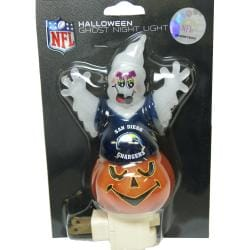 San Diego Chargers Halloween Ghost Night Light 7266453