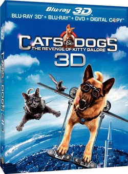 Cats & Dogs: The Revenge Of Kitty Galore 3D (Blu-ray Disc) 7268271