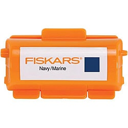 Fiskars Continuous Stamp Navy Ink Cartridge