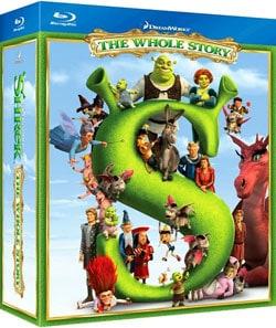 Shrek The Whole Story Quadrilogy (Blu-ray Disc) 7279682