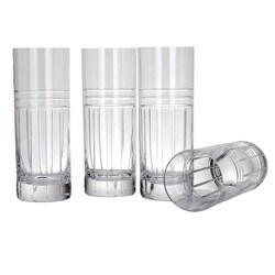Reed & Barton Tempo Hiball Glasses (Set of 4)