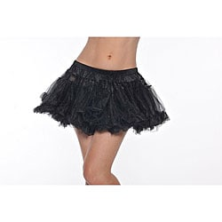 Black Kate Two-layer Petticoat