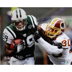 Steiner Sports Jerricho Cotchery Stiff Arm vs Redskins Photograph