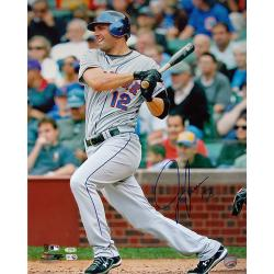 Steiner Sports Jeff Francoeur NY Mets Grey Jersey Swing Photograph