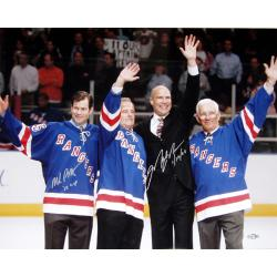 Steiner Sports Mark Messier/ Mike Richter Photograph
