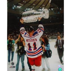 Steiner Sports Mark Messier Cup 16x20 Autographed Photograph