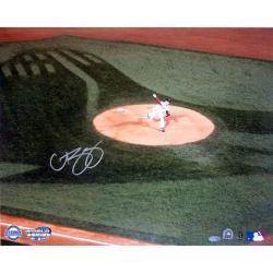 Steiner Sports Curt Schilling 2004 WS Pitching Photo 7293459