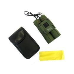 OEM Green 10 X 25 Compact Folding Binoculars