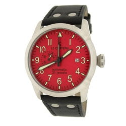 Le Chateau Men's Dynamo Automatic Watch with Red Dial