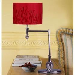 Red Macus 1-light Metal Table Lamp