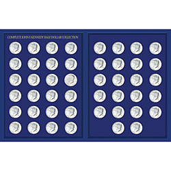 American Coin Treasures JFK Half Dollar Collection in Deluxe Portfolio