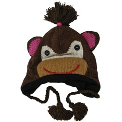 Wool Girl Monkey Jungle Beanie (Nepal)