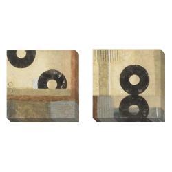 Sean Jacobs 'Before Time' 2-piece Canvas Art Set