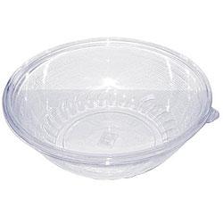 Clear Plastic Pack 'N' Serve Bowls (Case of 18) 7376786
