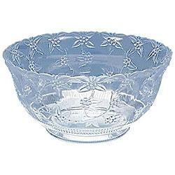 Maryland Plastics 8-qt Clear Punch Bowl