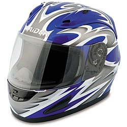 Raider Blue Full Face Street Helmet 7422306