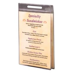 Clear Roll Stand Pockets (Pack of 50)