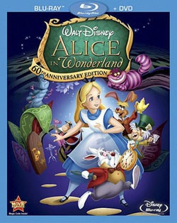Alice In Wonderland 60th Anniversary Edition (Blu-ray/DVD) 7443213