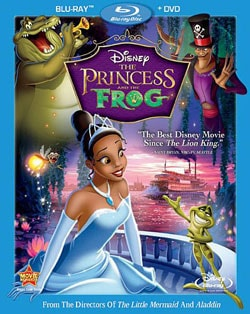 The Princess and the Frog (Blu-ray/DVD) 7443229