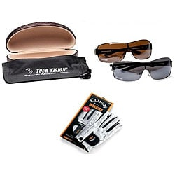 Tour Vision 2011 HD Sunglasses/ Callaway Golf Gloves Gift Combo