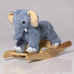 The Charm Company Elmer the Elephant Rocker