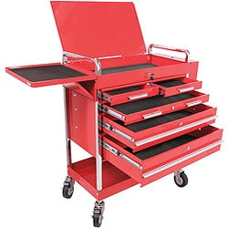 Heavy Duty 5-drawer Service Cart