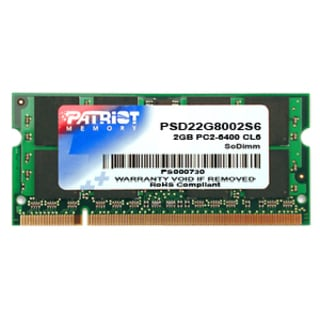 Patriot Signature DDR2 2GB CL6 PC2-6400 (800MHz) SODIMM