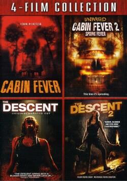 Cabin Fever/Cabin Fever 2/Descent/Descent 2 (DVD) 7463779