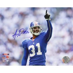 New York Giants Aaron Ross Autographed Photo