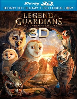 Legend of the Guardians: The Owls of Ga'Hoole 3D (Blu-ray/DVD) 7475035