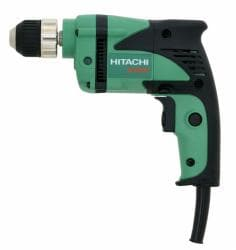 Hitachi D10VH 0.375-inch Reversible Drill (Reconditioned)