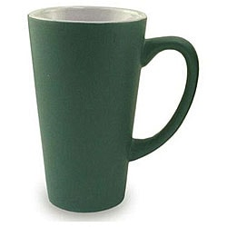 Funnel Style Green 16-oz Ceramic Mugs (Pack of 4)