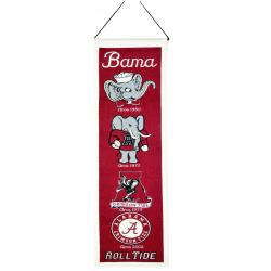 Alabama Crimson Tide Wool Heritage Banner 7478162