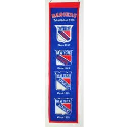 New York Rangers Wool Heritage Banner 7478172